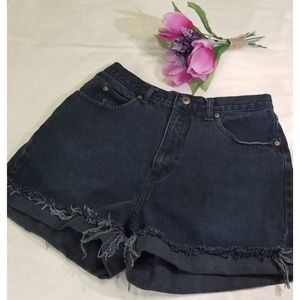 Vintage Crossroads High Wasted Jean Shorts
